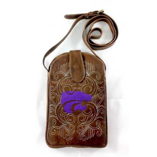 KST-P042-1: KANSAS STATE Gameday Boots Purse