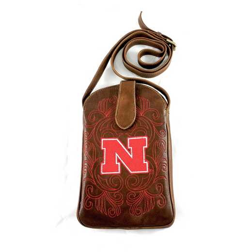 NB-P019-2: U OF NEBRASKA Gameday Boots Purse