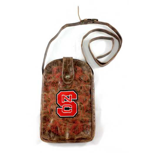NCS-P052-1: N CAROLINA STATE Gameday Boots Purse