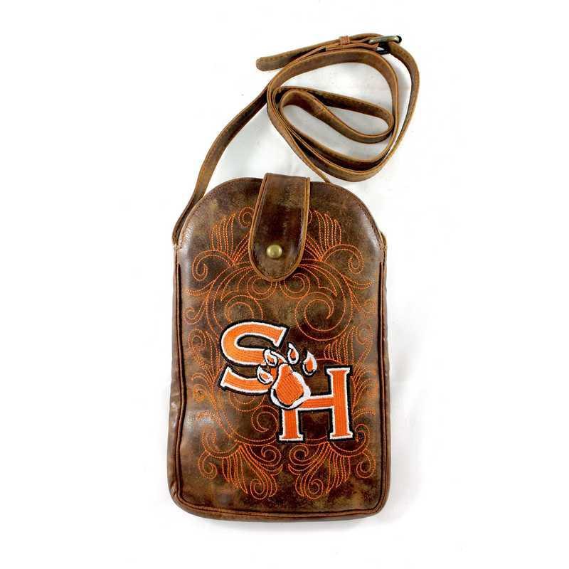 SAM-P026-1: SAM HOUSTON ST Gameday Boots Purse