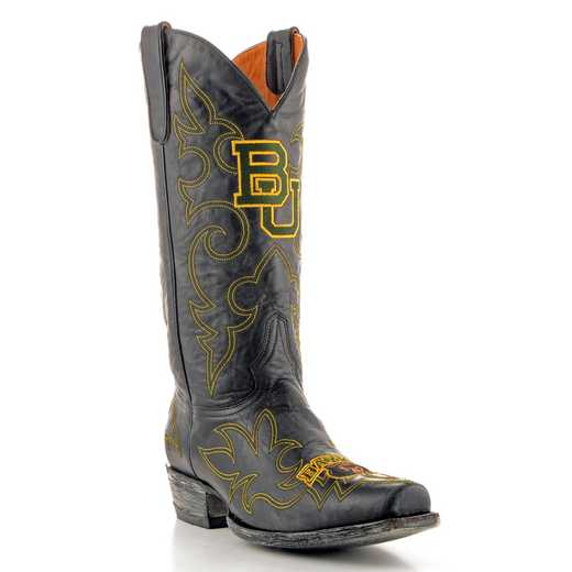 Men's Baylor Bears Black Tailgate Cowboy Boots by Gameday Boots