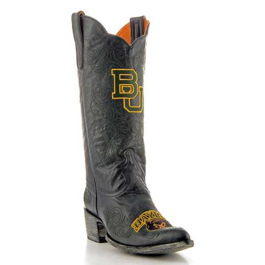 "Women's 13"" Baylor Bears Black Tailgate Cowgirl Boots by Gameday Boots"