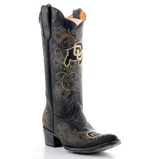 "Women's 13"" University of Colorado Buffaloes Cowgirl Boots by Gameday Boots"