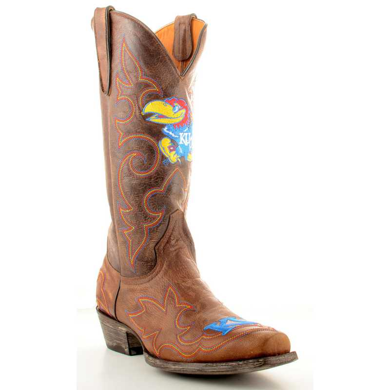 Kansas Jayhawks Men's Boots by Gameday Boots