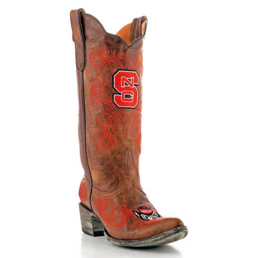 "NC State Ladies 13"" Brown Boots by Gameday Boots"
