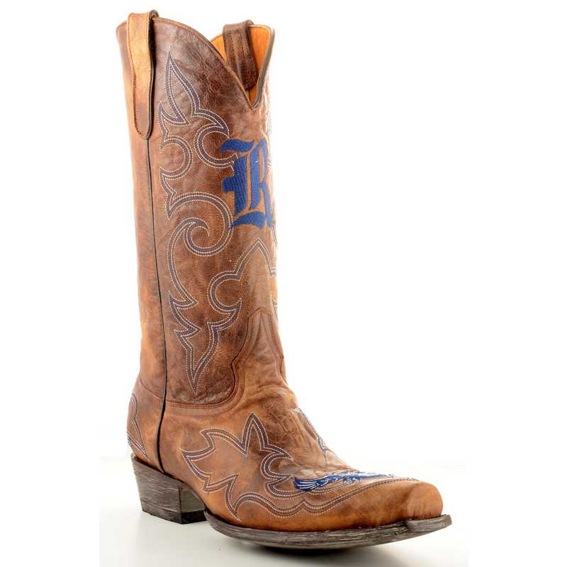 Men's Rice University Owls Tailgate Cowboy Boots by Gameday Boots