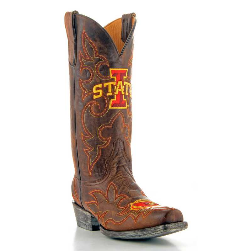 Iowa State Cyclones Men's Boots by Gameday Boots
