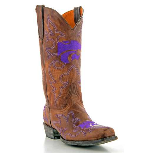 Kansas State Wildcats Men's Boots by Gameday Boots