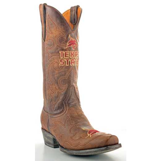 Men's Texas State Bobcats Tailgate Cowboy Boots by Gameday Boots