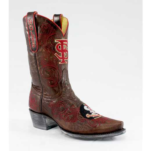 "FSU Seminoles Ladies 10"" Boots by Gameday Boots"