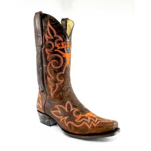 Men's Texas Longhorns Tailgate Cowboy Boots by Gameday Boots