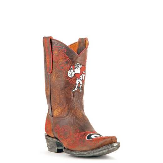 "Georgia Bulldogs Ladies 10"" Boots by Gameday Boots"