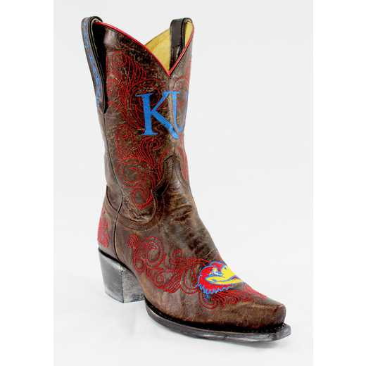 "Kansas Jayhawks Ladies 10"" Boots by Gameday Boots"
