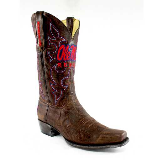 Men's Ole Miss Rebels Executive Cowboy Boots by Gameday Boots