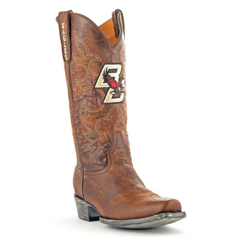 Men's Boston College Eagles Executive Cowboy Boots by Gameday Boots