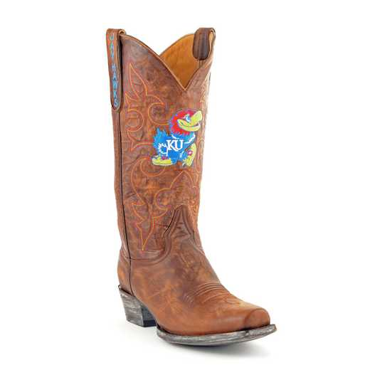 Kansas Jayhawks Men's Boardroom Boots by Gameday Boots