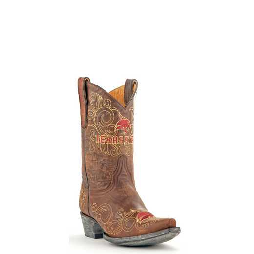 "Women's 10"" Texas State Bobcats Tailgate Cowgirl Boots by Gameday Boots"