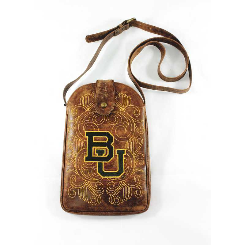 BAY-P034-2: BAYLOR Gameday Boots Purse