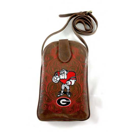 GA-P036-1: U OF GEORGIA Gameday Boots Purse