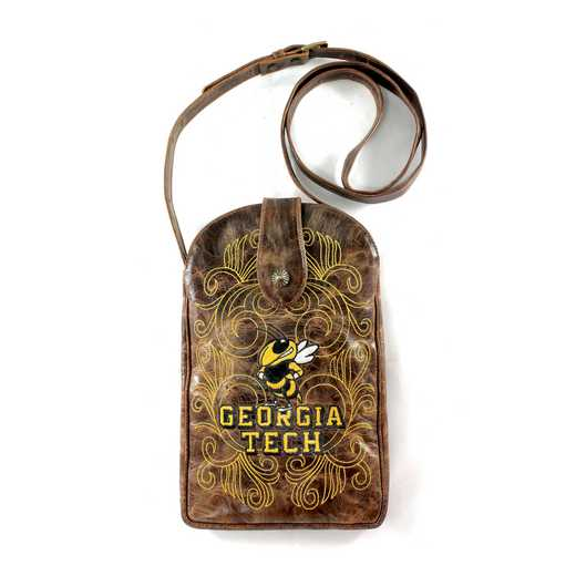 GT-P037-1: GEORGIA TECH Gameday Boots Purse