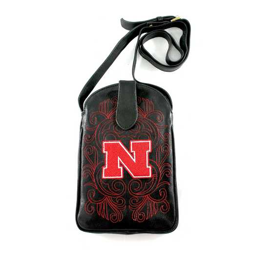 NB-P019-1: U OF NEBRASKA Gameday Boots Purse