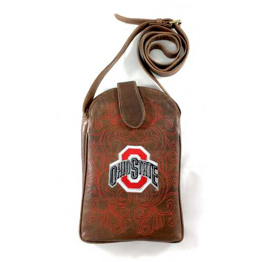 OST-P058-1: OHIO STATE Gameday Boots Purse