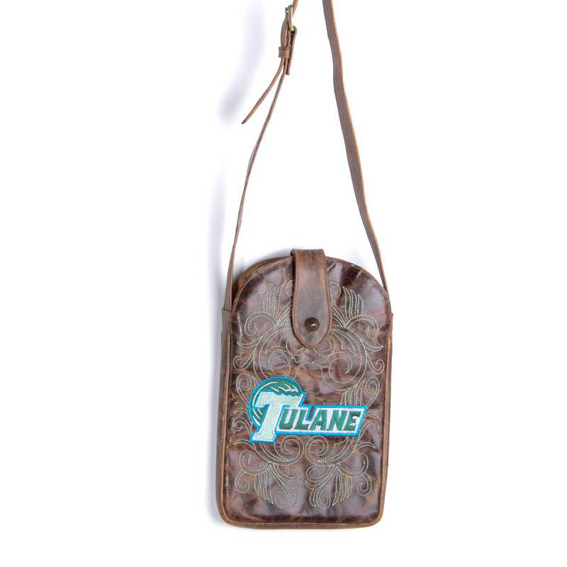 TUL-P011-1: TULANE Gameday Boots Purse