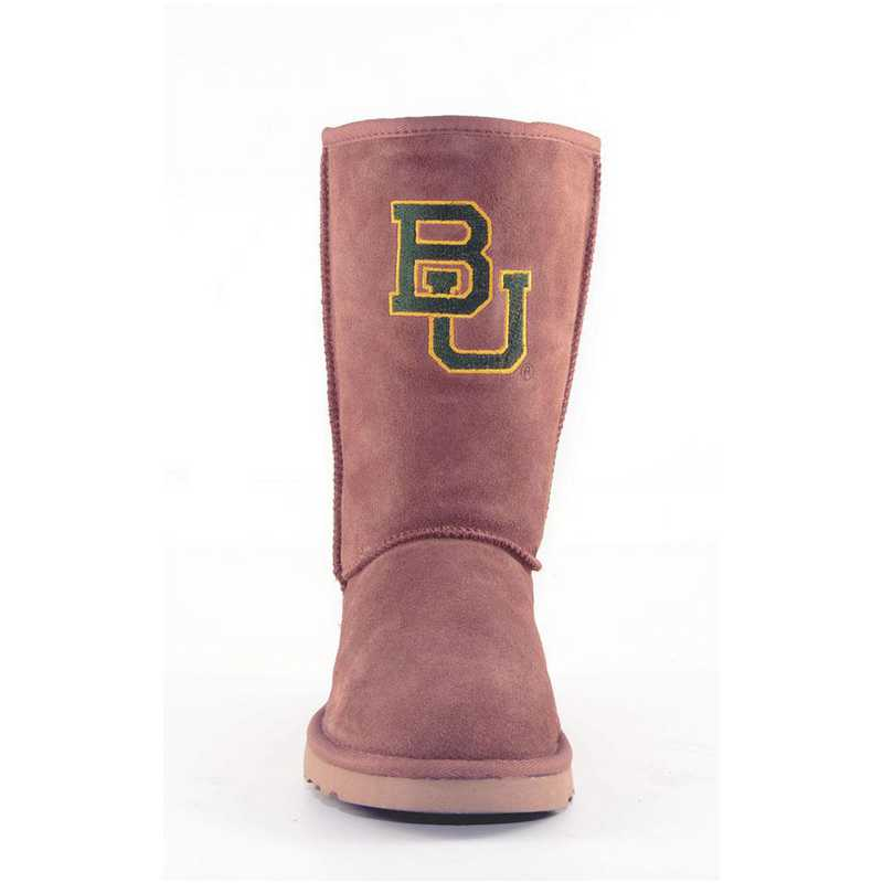 Baylor Hickory Ladies Lambskin Roadie Boot by Gameday Boots