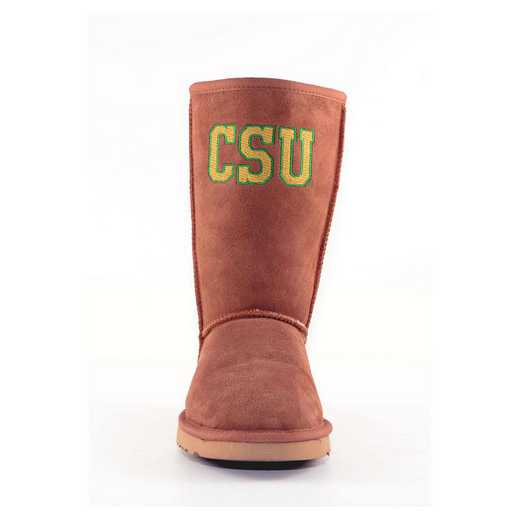 Colorado State Hickory Ladies Lambskin Roadie Boot by Gameday Boots