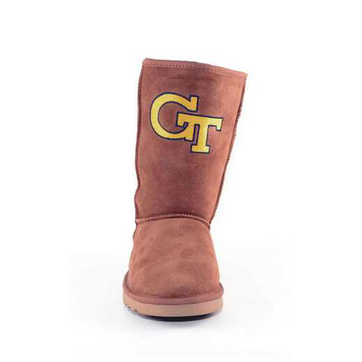 Georgia Tech Hickory Ladies Lambskin Roadie Boot by Gameday Boots
