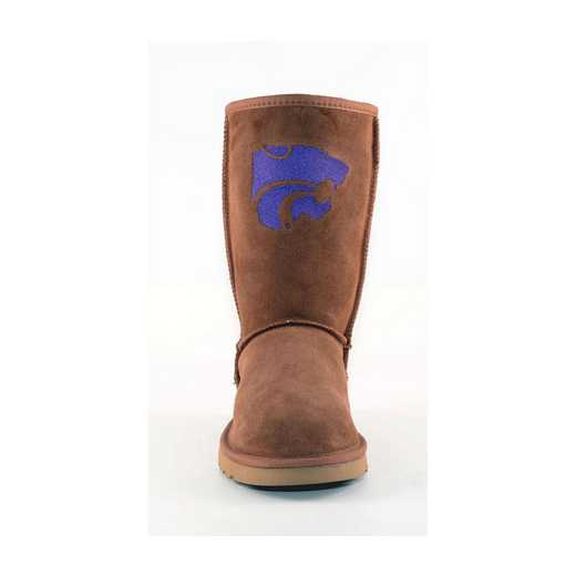 Kansas State Hickory Ladies Lambskin Roadie Boot by Gameday Boots