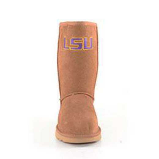 LSU Hickory Ladies Lambskin Roadie Boot by Gameday Boots