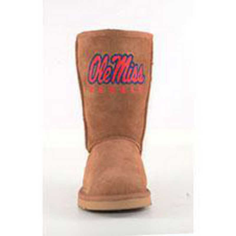 University Of Mississippi Hickory Ladies Lambskin Roadie Boot by Gameday Boots