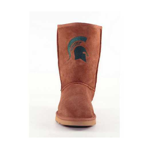 Michigan State Hickory Ladies Lambskin Roadie Boot by Gameday Boots