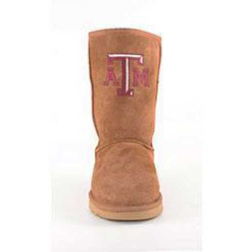 Texas A&M Hickory Ladies Lambskin Roadie Boot by Gameday Boots
