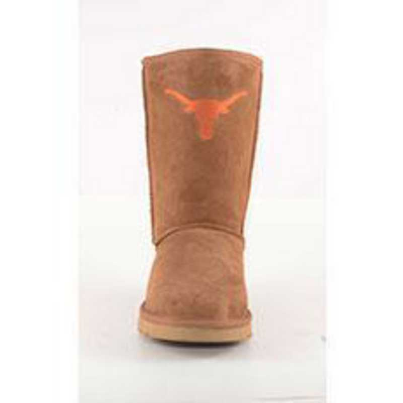 U Of Texas Hickory Ladies Lambskin Roadie Boot by Gameday Boots