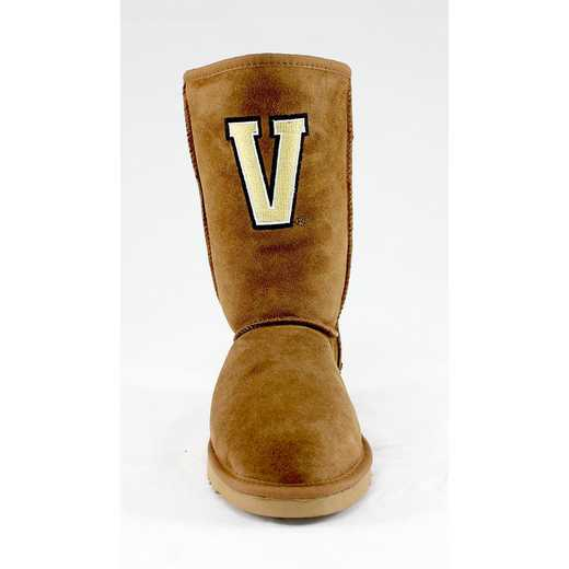 Vanderbilt Hickory Ladies Lambskin Roadie Boot by Gameday Boots