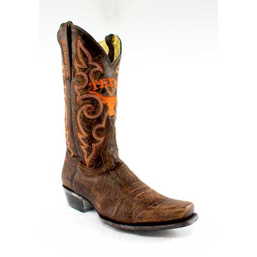 Men's University of Texas Longhorns Executive Cowboy Boots (Size 7) by Gameday Boots
