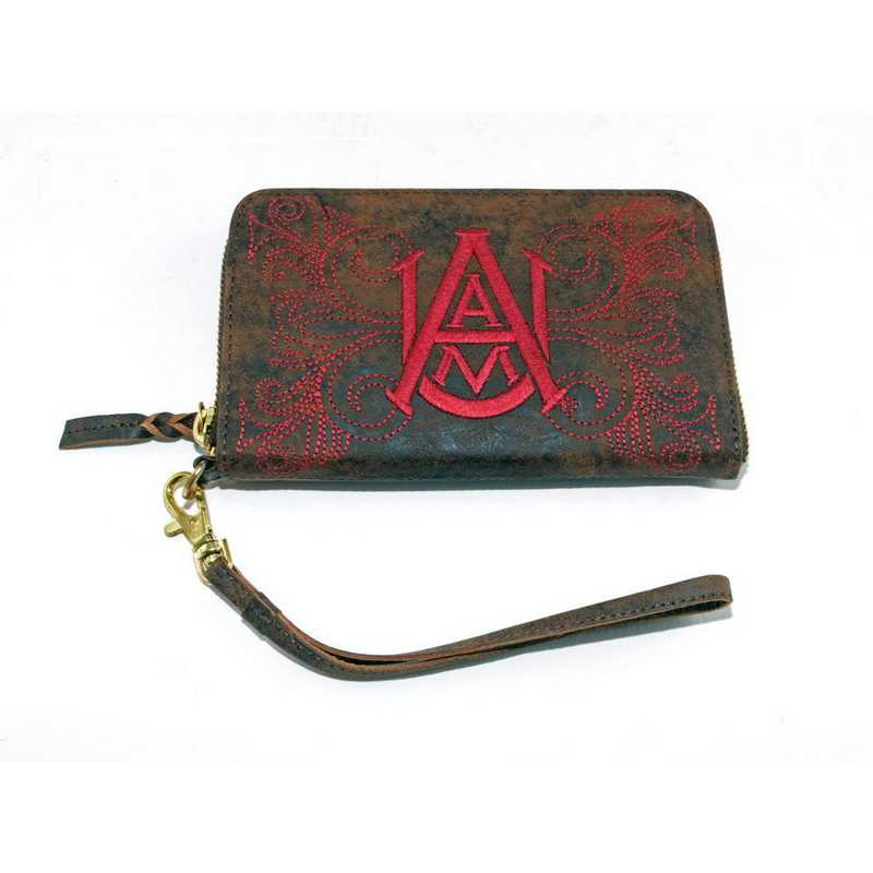 AAM-WR249-1: ALABAMA A&M GAMEDAY BOOTS WRISTLET