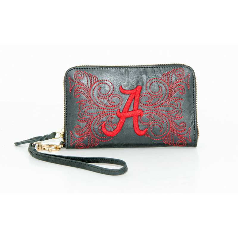 AL-WR012-2: U OF ALABAMA GAMEDAY BOOTS WRISTLET