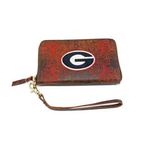 GA-WR036-1: U OF GEORGIA GAMEDAY BOOTS WRISTLET