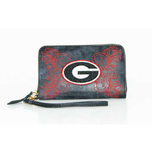 GA-WR036-2: U OF GEORGIA GAMEDAY BOOTS WRISTLET