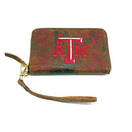 TAM-WR007-1: TEXAS A&M GAMEDAY BOOTS WRISTLET