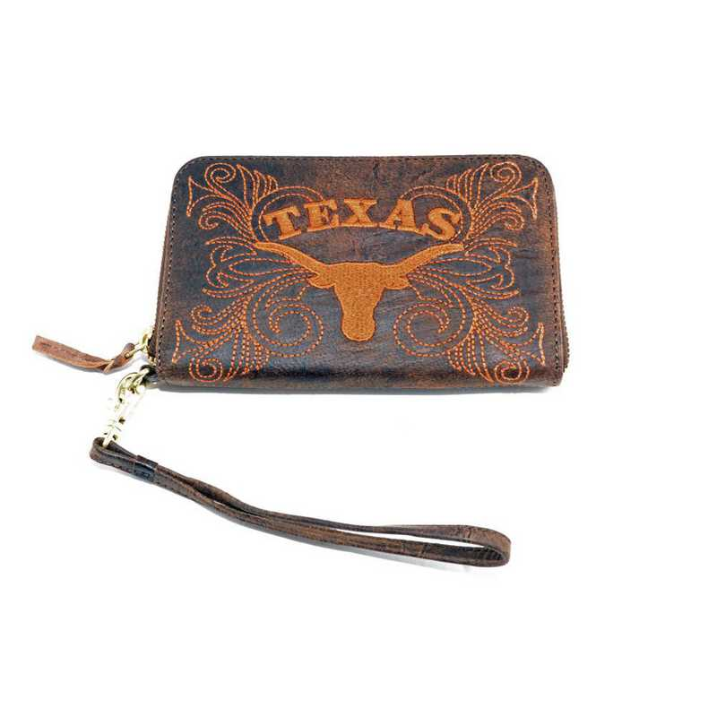UT-WR071-1: U OF TEXAS GAMEDAY BOOTS WRISTLET