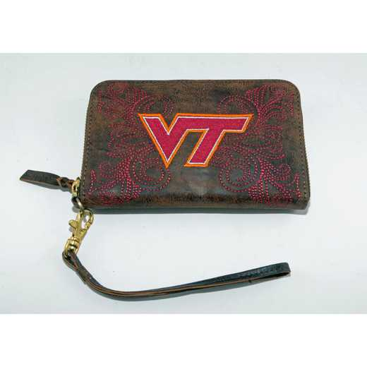 VT-WR079-1: VIRGINIA TECH GAMEDAY BOOTS WRISTLET