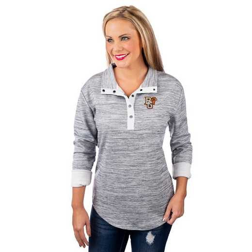 "Bowling Green Falcons ""In a Snap"" Quarter Button Pullover by Gameday Couture"