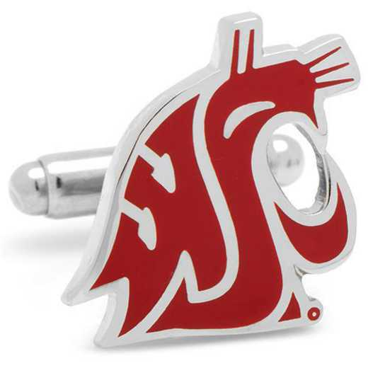 PD-WSC-SL: Washington State Cougars Cufflinks