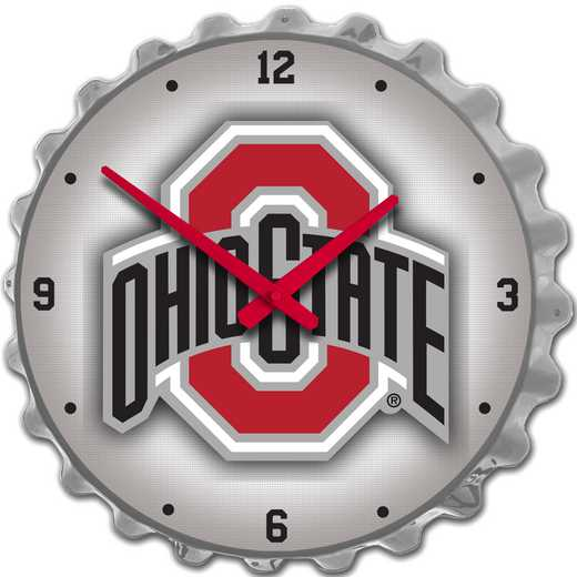OS-540-01: GI Team Spirit Cap  Clock-Primary Logo Silver , Ohio St