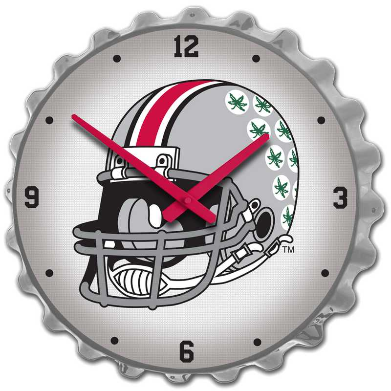 OS-540-03: GI Team Spirit Cap  Clock-Helmet on Silver , Ohio St