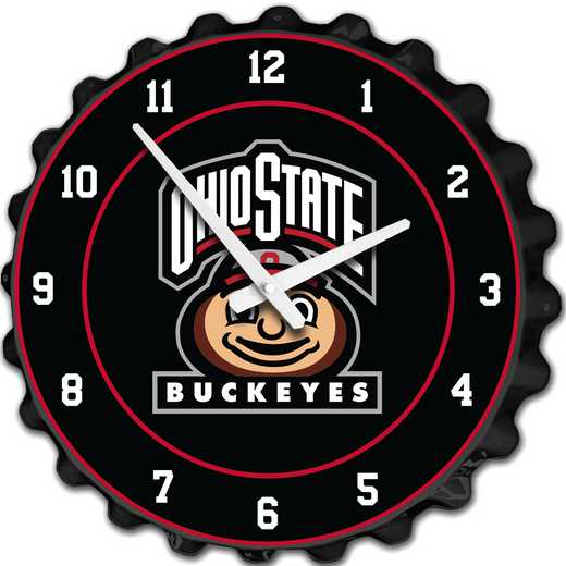 OS-540-04: GI Team Spirit Cap  Clock-Brutus on Black, Ohio St